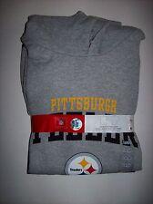 Pittsburgh Steelers Combo Sweatshirt/T-Shirt NFL Football Hooded Crew Logo NWT