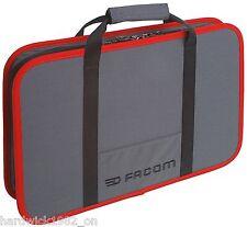 Facom BV.16 ELECTRICIAL ou mécaniciens zippées cas en facom outils gris & rouge