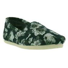 Toms Classics Canvas Womens Ladies Espadrille Slip On Shoes Size UK 3-10