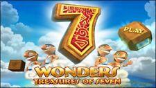 7 Wonders: treasures of seven Clé Steam Digital Download PC match 3