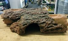 GECKO REPTILE LIZARD CAVE COVER TERRESTRIAL LOG HIDE OUT VIVARIUM BOWLS