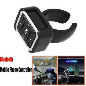 1x Bluetooth 5.0 Mobile Phone Controller Button Music Remote Control Universal