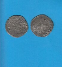 PHILIPPE IV Le Bel (1285-1314) Double Tournois billon Lot D PORT GRATUIT FRANCE