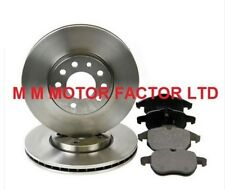 FOR SAAB 93 9-3 1.8 1.9 TTid Tid 2.0 2.2(02-)FRONT 2 BRAKE DISCS AND PADS SETNEW