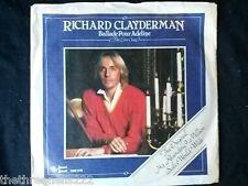"VINYL 7"" SINGLE - BALLADE POUR ADELINE - RICHARD CLAYDERMAN - SON2219"