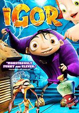 IGOR ~ DVD 2009 ~ Voice by: John Cusack ~ Family