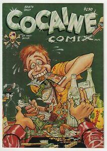 Cocaine Comix #4 - 1st Print - 1982 Last Gasp - Classic Underground  C2