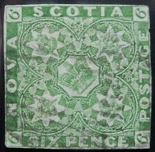 Nova Scotia Scott # 4, Used