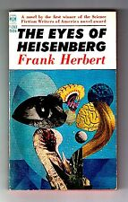 THE EYES OF HEISENBERG (SIGNED by Frank Herbert/1st US/PBO)