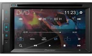 "Pioneer AVH-241EX 6.2"" RESISTIVE Glass Touchscreen Multimedia DVD Receiver"