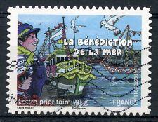 TIMBRE FRANCE AUTOADHESIF OBLITERE N° 570 / FETES ET TRADITIONS DE NOS REGIONS