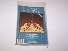 Nip new Sculpture Crochet Mini Kits Lace Basket Ornaments by Mary Buse Melick