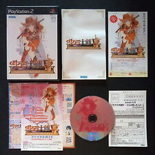 Sakura Wars V tanto mi amor Playstation 2 NTSC JAPAN ・ ❀ ・ mecha Taisen PS2 サクラ大戦 5