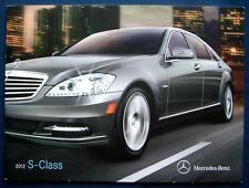 Prospectus brochure 2012 MERCEDES S-Class * S-Classe (USA)