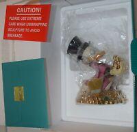 "Disney WDCC Uncle Scrooge McDuck Gold ""Money Money Money"" 30th Anniversary COA"