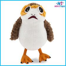 "Star Wars The Last Jedi Porg 9"" Plush Doll brand new with tag"