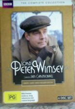 LORD Peter Wimsey - 6 DVDs...Region 4....Free Post.
