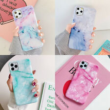 For iPhone 11 Pro Max XS XR 7 8 Plus X Marble Shockproof Soft TPU Silicone Case
