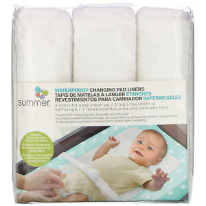 Water Proof Changing Pad Liners, 3 Count