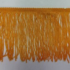 "6"" orange chainette  Fringe Lampshade Lamp Costume Trim by the Yard,dance dress"