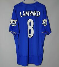 CHELSEA LONDON 2005 2006 HOME FOOTBALL SHIRT JERSEY CENTERARY #8 LAMPARD