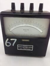 YEW42E845Analog DC Voltmeter 0-100V, 0-300V