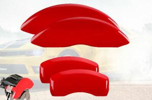 2011-2019 Dodge Grand Caravan BRG Front + Rear Red MGP Brake Disc Caliper Covers