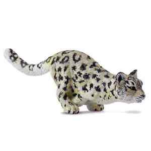 CollectA Wild Life Snow Leopard Cub Running Toy Figure