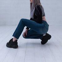 Levi's Flatters & Flaunts Gerades Bein Blau Damen Jeans DE 38 / W30 L32