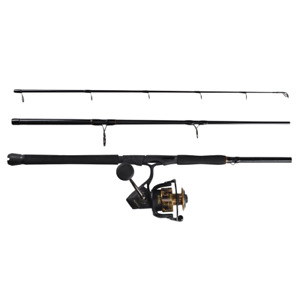 "PENN Battle III Combo 6000 Size Reel 9'0"" Medium Heavy Rod Spinning Combo"