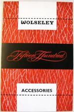 Wolseley accessori 1500 1960 AKD1602 originale auto accessori BROCHURE DI VENDITA