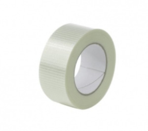 Extra Strong Packing Tape Cross weave Reinforced Glass Filament 24mm 50mm