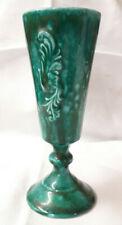 """Billinghay Pottery Vase Vintage Footed Goblet 6 1/4""""  Vase AP/49 Lincolnshire"""