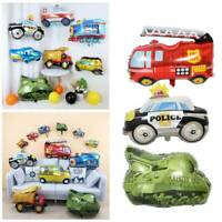 Car fire truck Balloons Party Baloons Foil Ballon Birthday Party Decorations