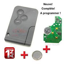 CARTE démarrage NEUVE COMPLETE à Programmer RENAULT Megane 2 II et Scenic 2 II