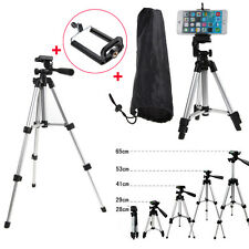 Pro Tripod for DSLR Canon Nikon Sony Camera Tripod Stand Phone Holder Mount +Bag