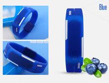 Men Rubber LED Watch Waterproof Date Amry Sports Bracelet Digital Wrist Watch