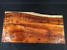 """Hawaiian Curly Koa Board! Beautiful Color And Curl! 23 1/2"""" X 12"""" X 2""""!"""