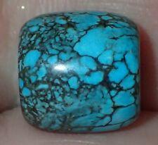 12mm Natural Indo - Tibetan, Tibet Turquoise bead, #S2604