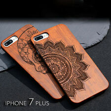 Apple Wooden Cover Bamboo Phone Case Cover For iPhone 8 X 5 5S SE 6 6S 7 Plus