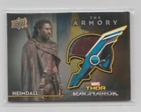 Thor Ragnarok Armory Costume Trading Card #AS-2 Idris Elba as Heimdall