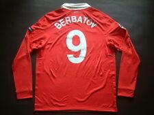 BERBATOV MUFC HOME match issued CHAMPIONS LEAGUE ML-LS 2010-2011
