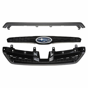 OEM 2014-2018 Subaru Forester Sport Grille Assembly Gunmetal Trim NEW J1010SG101