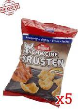 XOX Knusprige Schweinekrusten Diabetiker und Sportler 5er Pack (5 x 100 g)