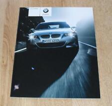 BMW M5 Saloon Brochure 2004 - E60 5.0 V10
