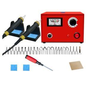 New Wood Burning Gourd Crafts Tool Kits Laser Pyrography Machine AU Plug