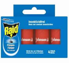 1X RAID FLY STRIPS (4 IN A PACK) BRAND NEW
