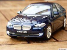 BMW 535i  5-ER F10 1:24 MIT LED-BELEUCHTUNG(XENON) WELLY BLAU