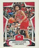 2019-20 Panini Chronicles ROOKIES & STARS 683 COBY WHITE RC Rookie Chicago Bulls