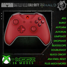 XBOX ONE RAPID FIRE CONTROLLER - BEST MOD ON EBAY!! Red - Red LED